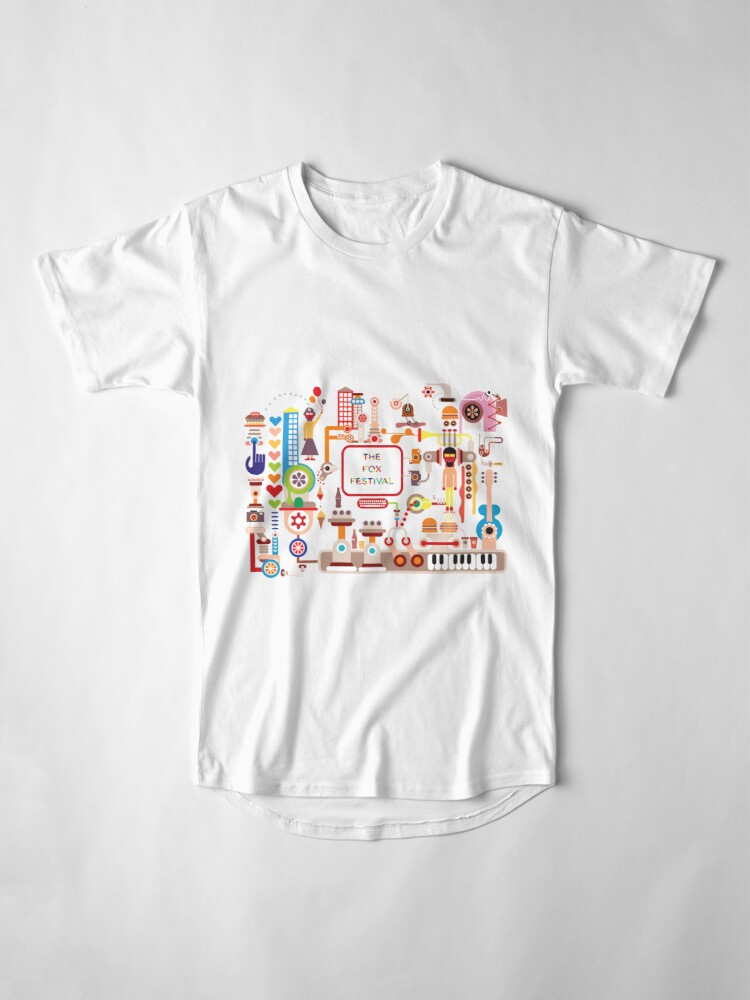 Alternate view of The Fox Festival Long T-Shirt