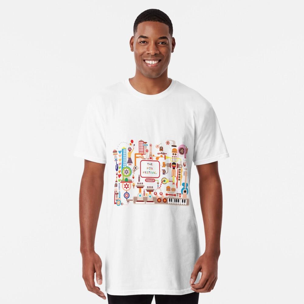 The Fox Festival Long T-Shirt