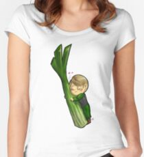 Hannibal vegetables - Celery Women's Fitted Scoop T-Shirt