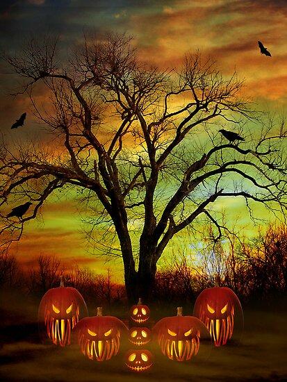 Halloween Night by Elizabeth Burton