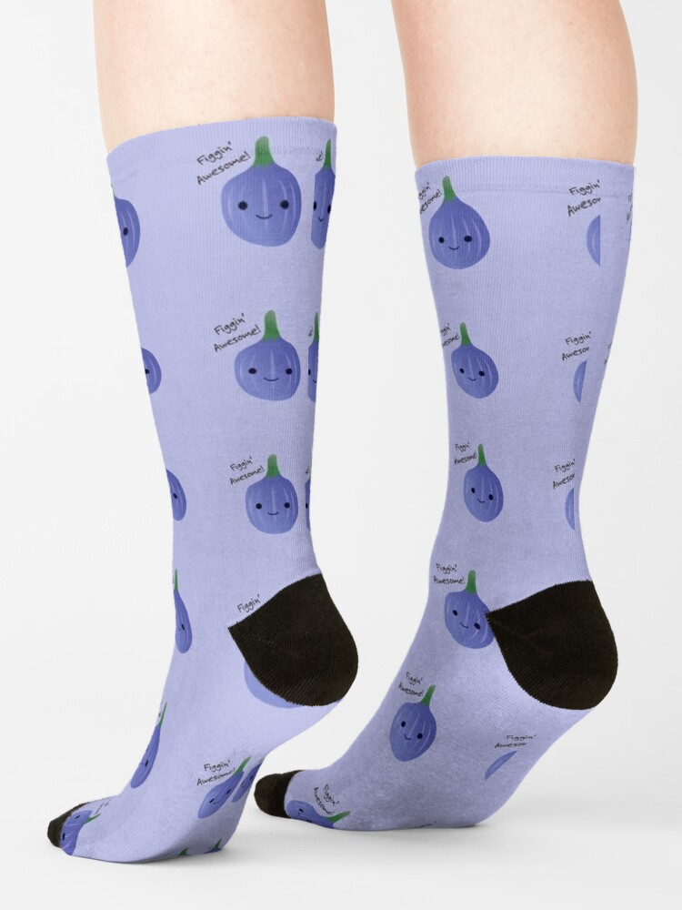 Alternate view of Figgin Awesome Fig Socks