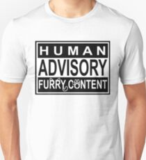 Advisory - FURRY CONTENT T-Shirt