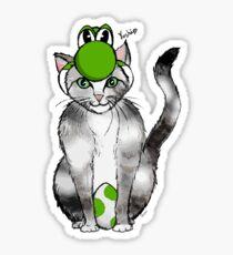 Yoshi is Yoshi Sticker
