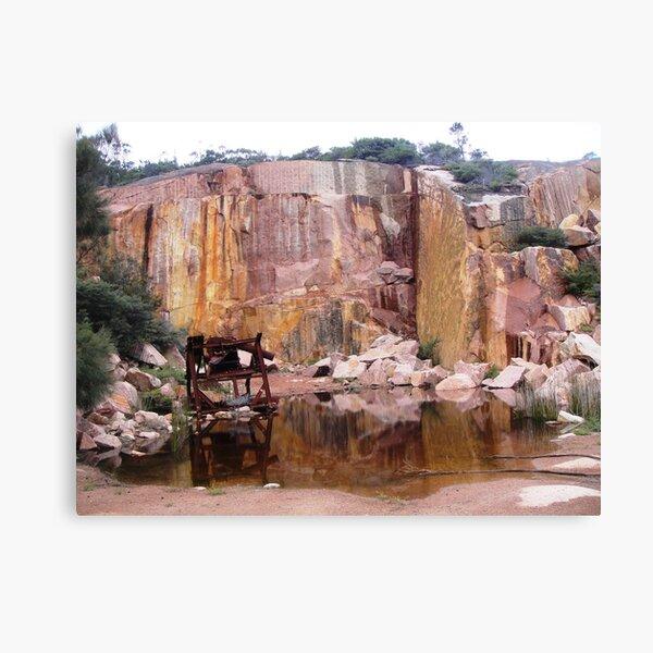 Coles Bay Granite Canvas Print