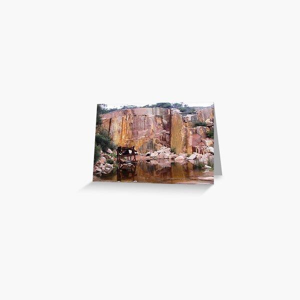 Coles Bay Granite Greeting Card
