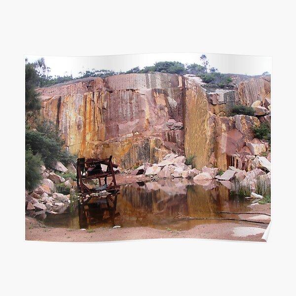 Coles Bay Granite Poster