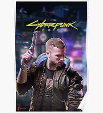 Cyberpunk 2077 Cover Art Poster