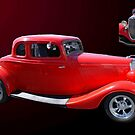 Red Ford Car by TxGimGim