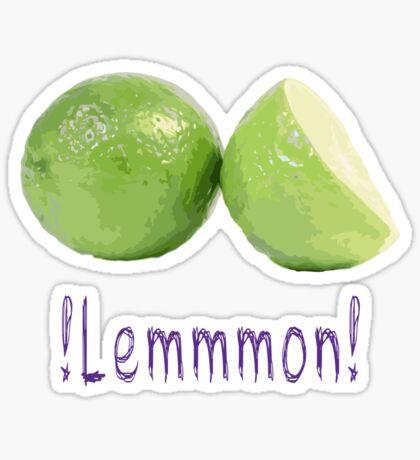 lemon delicious Sticker