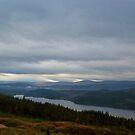 Loch Garry by Ray Vaughan