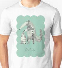 Beginning on your journey - Giant Anteater - Green T-Shirt