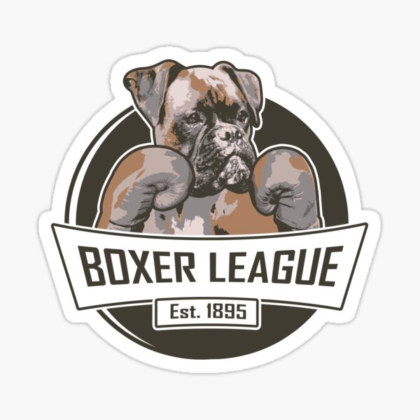 Liga Boxer Pegatina