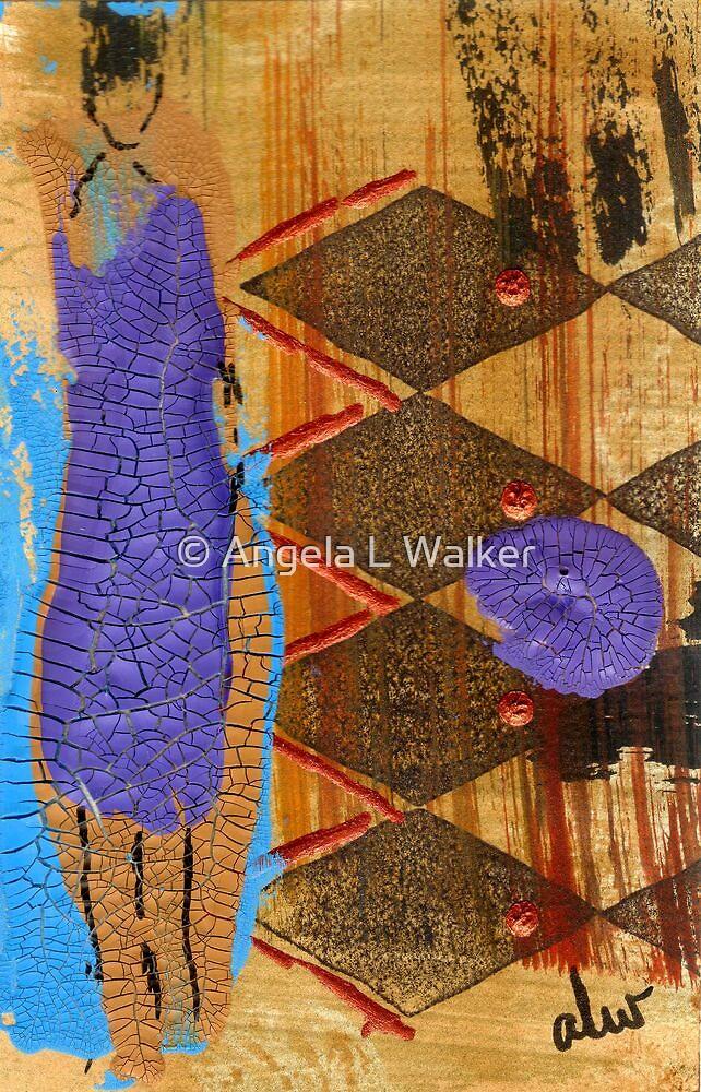My New Purple Dress by © Angela L Walker