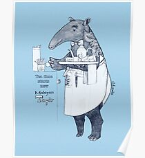 Tea time starts now - Malayan Tapir Poster