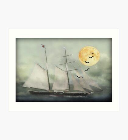 Ship of fools Kunstdruck