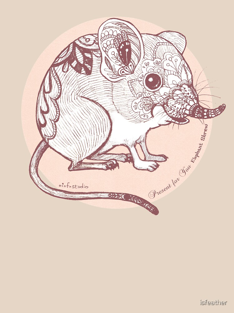 Present for You - Elephant Shrew [Pale orange] by isfeather