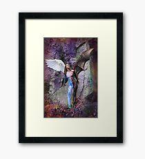 Angel & Devil Framed Print
