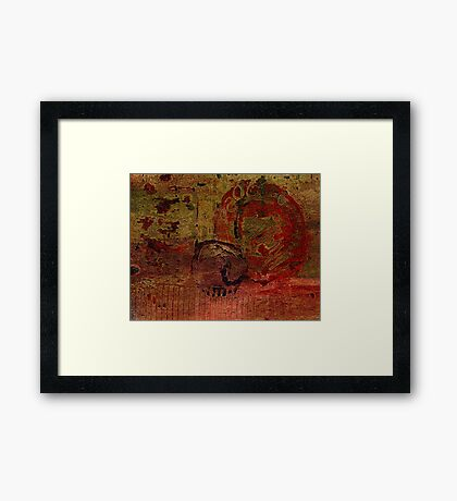 Rock Solid IV Framed Print