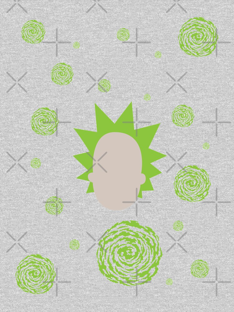 Rick and Morty - Rick Sanchez Pattern by rainbowdreamer