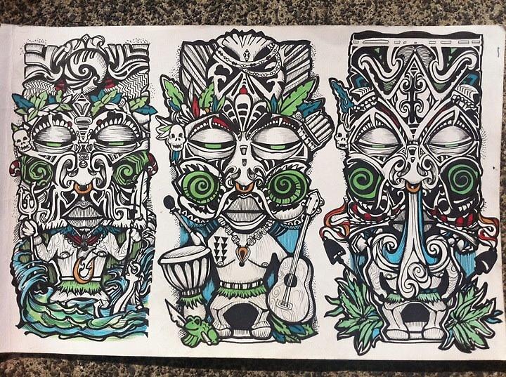 Freaky Tiki by SarahRasul