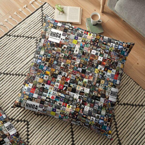BEST HIP HOP ALBUMS 1980 - 2019 Floor Pillow