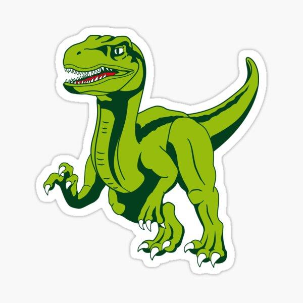 Dinosaur raptor Sticker