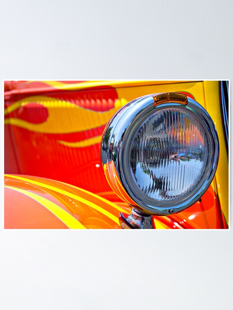 Alternate view of One Flaming Headlight Poster