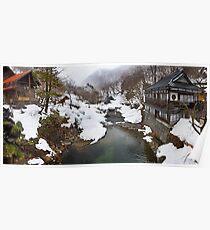 Takaragawa Onsen River Poster