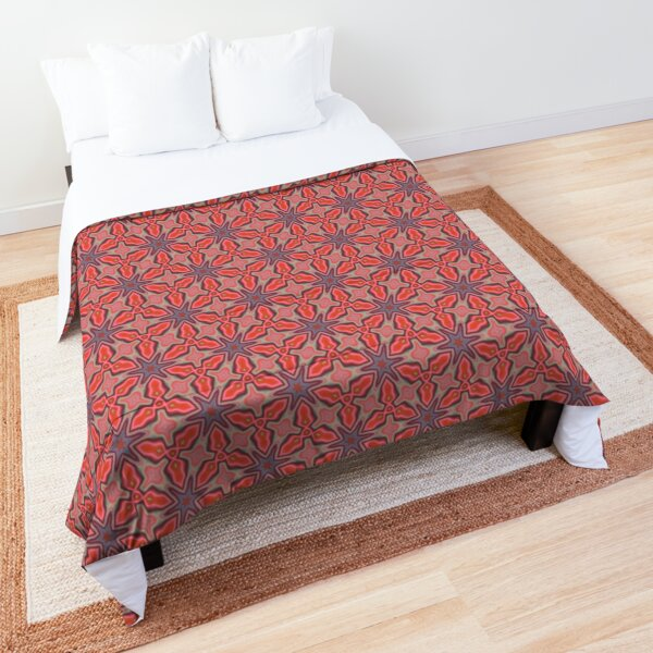 Coral Bloom Comforter