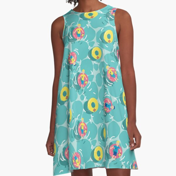 Pool Party A-Line Dress