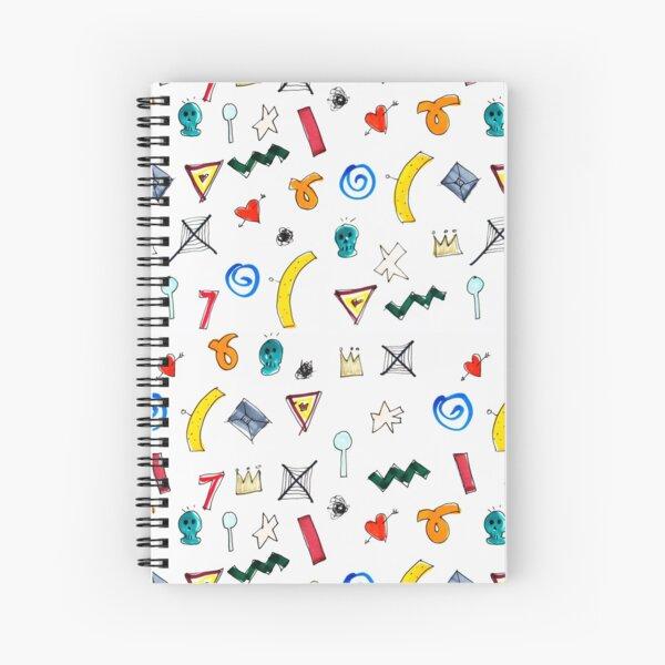 Motif Spiral Notebook