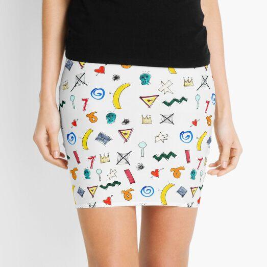 Motif Mini Skirt