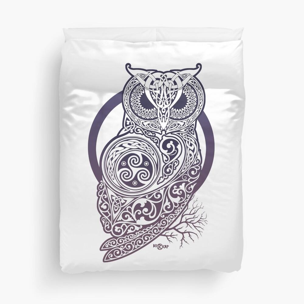CELTIC OWL Duvet Cover
