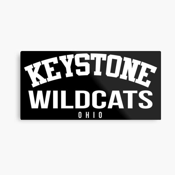 Keystone High School Wildcats Metal Print