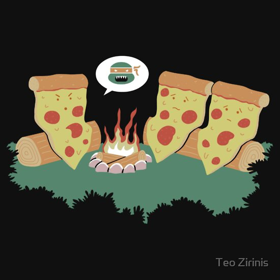 TShirtGifter presents: Campfire Tales of a Pepperoni Pizza