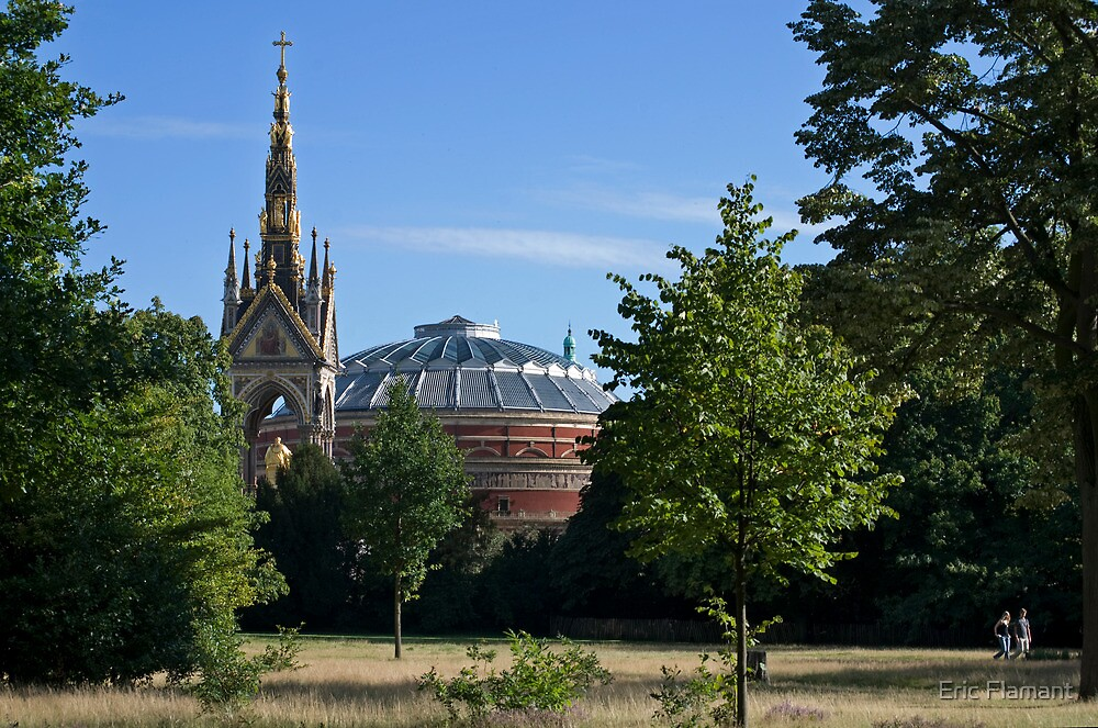 Royal Albert Hall by Eric Flamant