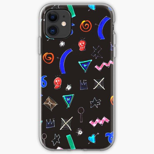 Motif dark iPhone Soft Case
