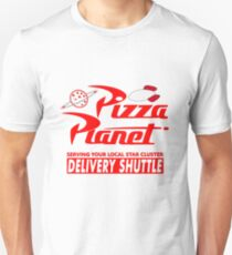 Pizza-Planet Slim Fit T-Shirt