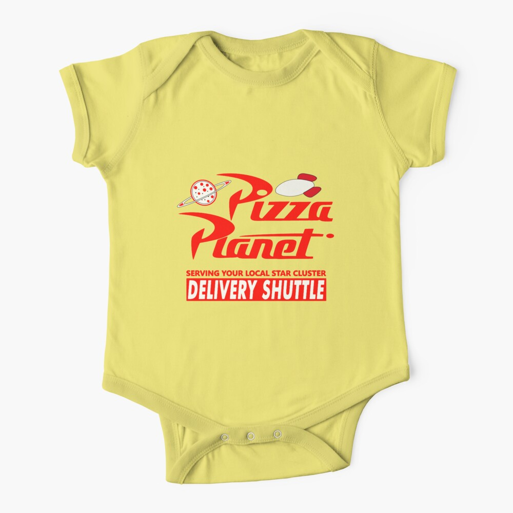 Pizza Planet Baby One-Piece