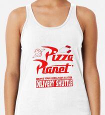 Camiseta con espalda nadadora Pizza Planet
