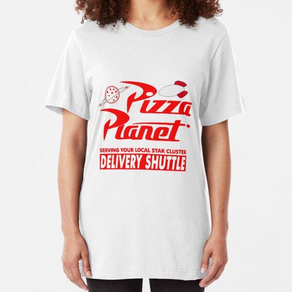 Pizza Planet Slim Fit T-Shirt