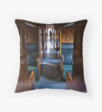 The Last Passenger Throw Pillow
