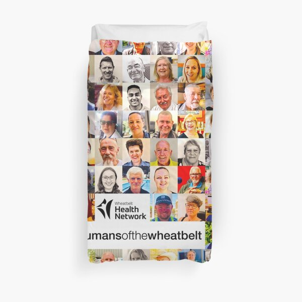 Humans of the Wheatbelt by Wheatbelt Health Network v5.0 Duvet Cover