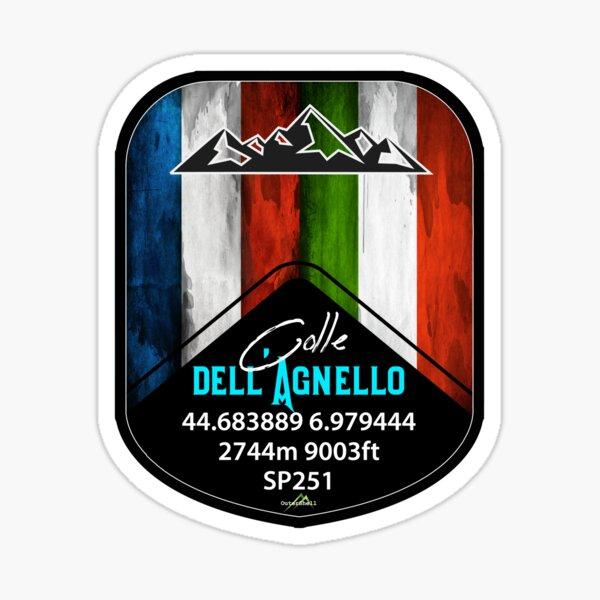 Colle dell'Agnello Italy Sticker T-Shirt Sticker