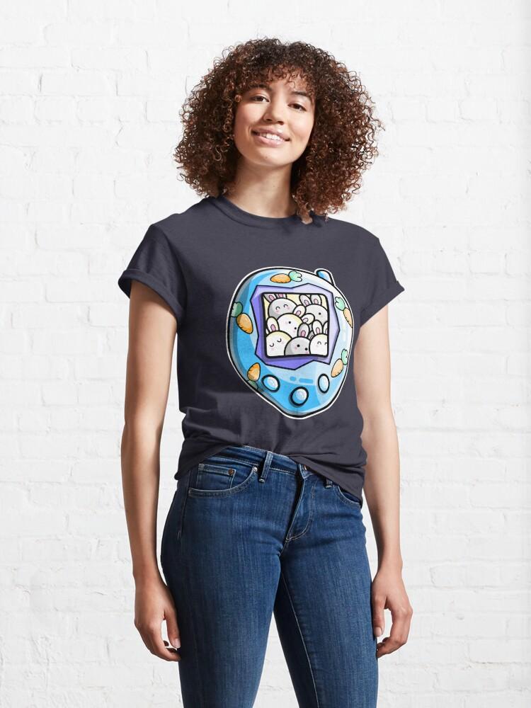 Alternate view of Rabbit Cute Digital Pet Classic T-Shirt