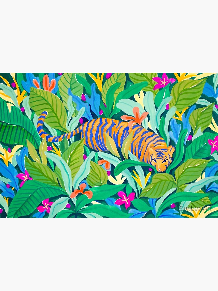 Colorful Jungle by sunleeart