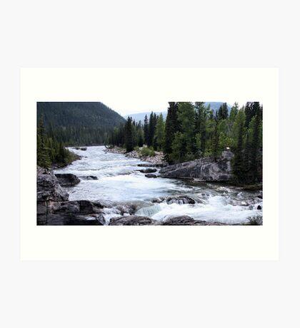 Elbow River View Art Print