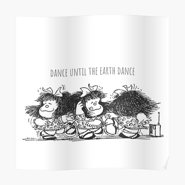 Mafalda Dance Music Póster