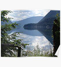 Lower Arrow Lake, Evening Poster