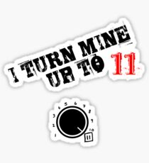 Turn it up! Sticker